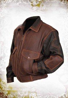 Кожаная куртка Top Gun