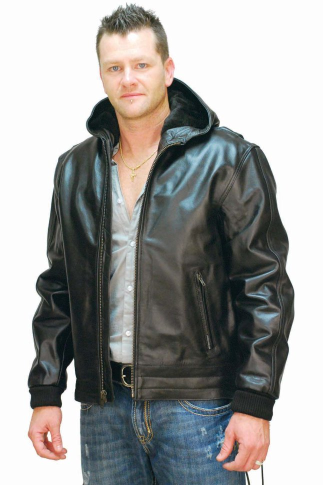 Купить Мужскую Кожаную Куртку С Мехом В Твери