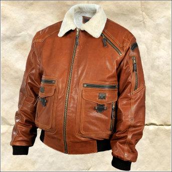 Кожаная куртка Douglas Zima