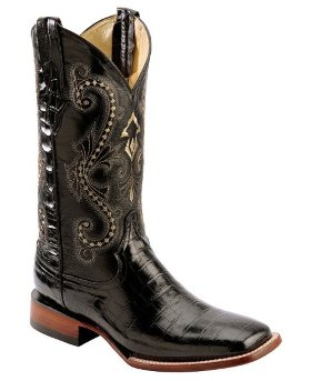 Ковбойские сапоги  Ferrini Alligator Belly Print Cowboy Boots