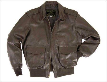 Кожаная лётная куртка ВВС США Legendary Fighting Falcon USAF style A-2 Flight