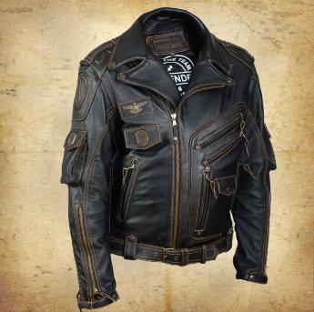 Байкерская куртка косуха Pretender Rock 3
