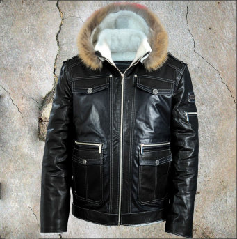 Кожаная куртка Mystery Zima