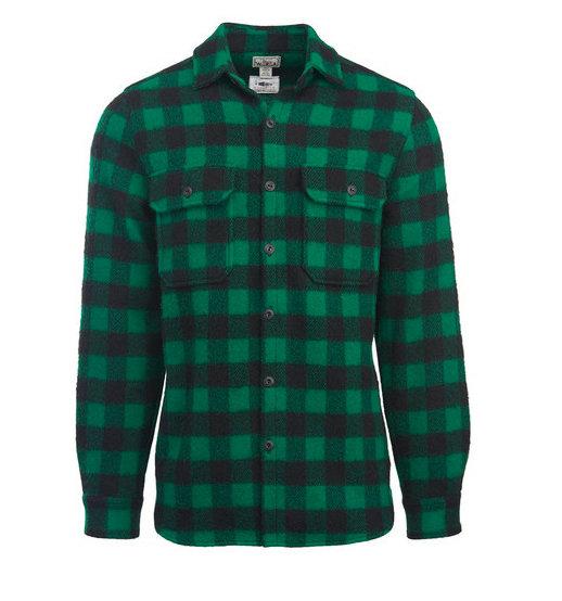 359fa0315c1 Мужская фланелевая рубашка из меха американского бизона